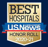 US News and World Report Best Hospitals Honor Roll 2020-2021